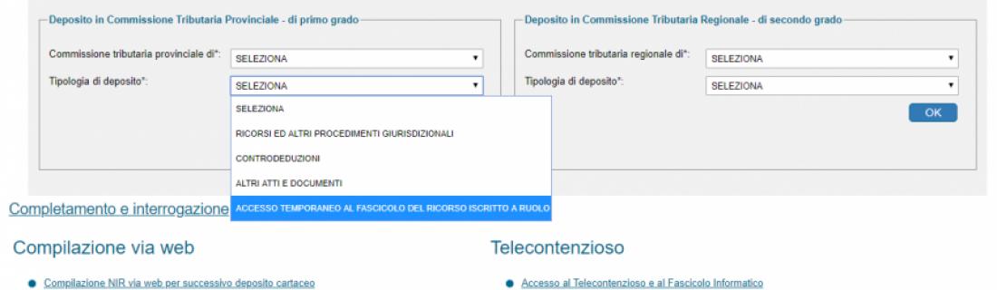 Processo Tributario Telematico – Guida pratica  per la richiesta di accesso temporaneo al fascicolo