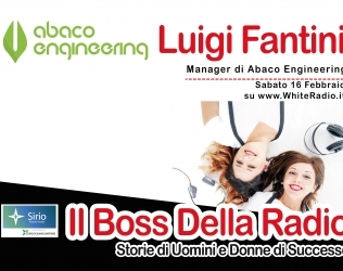 Abaco Engineering alla Radio! Anzi a White Radio!