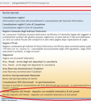 Deposito telematico degli atti ex art. 415 bis nel Processo Penale Telematico